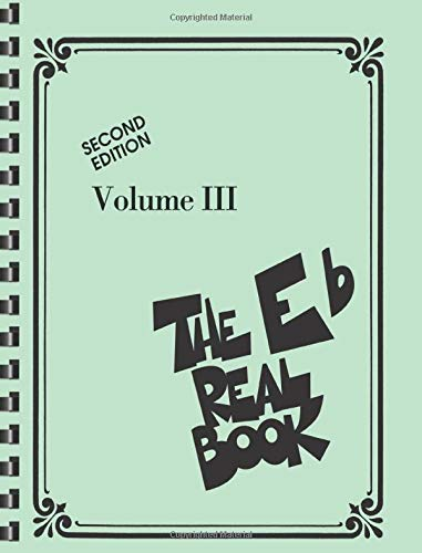 9781423415886: The Real Book - Volume III: Eb Edition (Real Books (Hal Leonard))