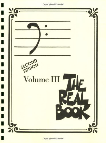 3: The Real Book - Volume III: Bass Clef Edition )