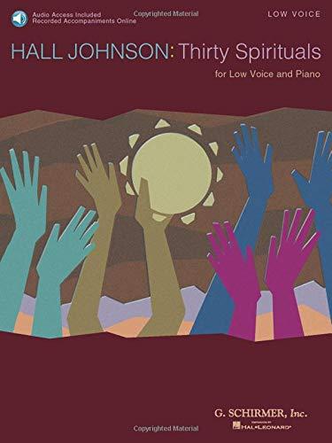 30 SPIRITUALS LOW VOICE BK/CD: Johnson, Hall