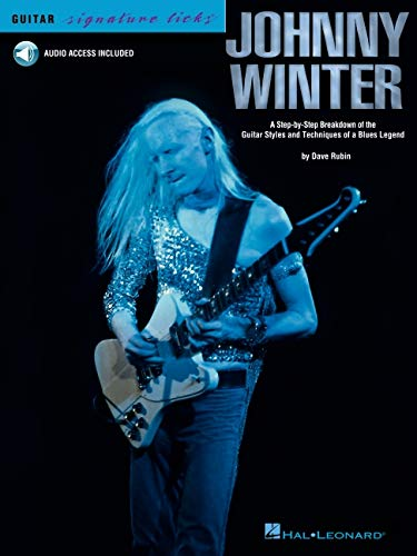 Johnny Winter Guitar Signature Licks BK/CD
