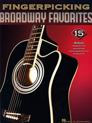 9781423416562: Fingerpicking Broadway Favorites (Book & CD)