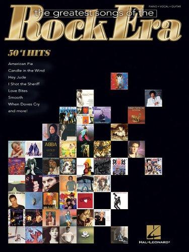 The Greatest Songs Of The Rock Era: Hal Leonard Corp.