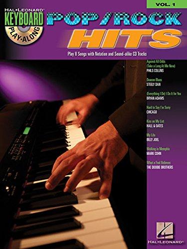 9781423417880: POP/ROCK HITS - KEYBOARD PLAY-ALONG VOLUME 1 (BOOK/CD)