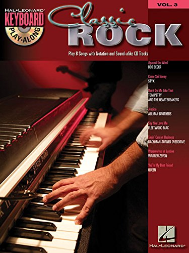 Keyboard Play-Along Volume 3: Classic Rock (Paperback)