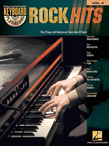 9781423417958: ROCK HITS (KEYBOARD PLAY-ALONG VOL5) BK/CD (Hal Leonard Keyboard Play-Along)