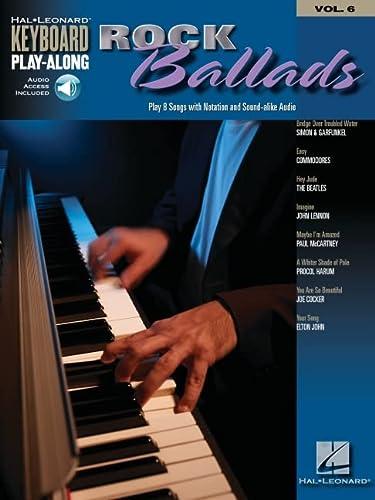 Keyboard Play-Along Volume 6: Rock Ballads (Paperback)