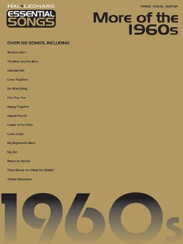 9781423418016: Essential Songs - More of the 1960s (Hal Leonard Essential Songs)