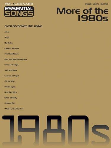 9781423418030: Essential Songs - More of the 1980s (Hal Leonard Essential Songs)