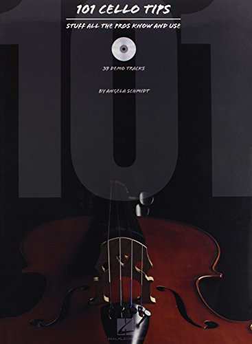 9781423418337: 101 Cello Tips: Stuff All the Pros Know and Use + CD