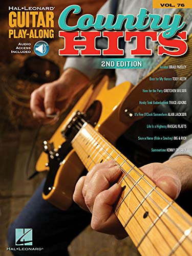 9781423419068: Country Hits: Guitar Play-Along Volume 76