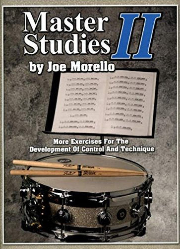 9781423419075: Master Studies II: More Exercises for the Development of Control and Technique