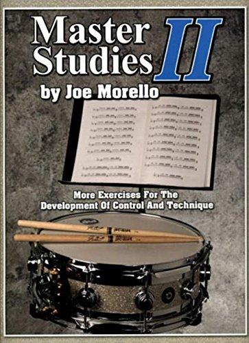 9781423419075: Master Studies Ii Drums