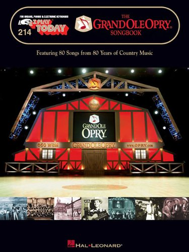 9781423419259: The Grand Ole Opry Songbook: E-Z Play Today Volume 214