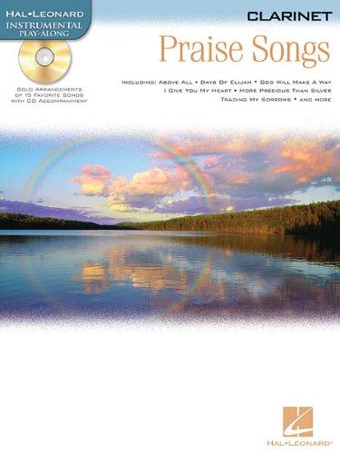 9781423419457: PRAISE SONGS CLARINET BK/CD (Hal Leonard Instrumental Play-Along)