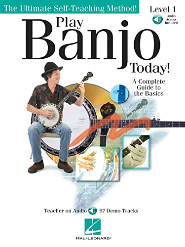 9781423419938: Play Banjo Today! Level 1 Bk/online audio (Ultimate Self-Teaching Method!)