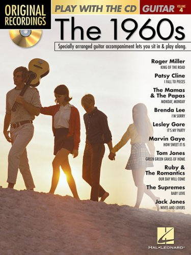 9781423420408: THE 1960S VOLUME 4 W/CD PLAY WITH GUITAR (Original Recordings)