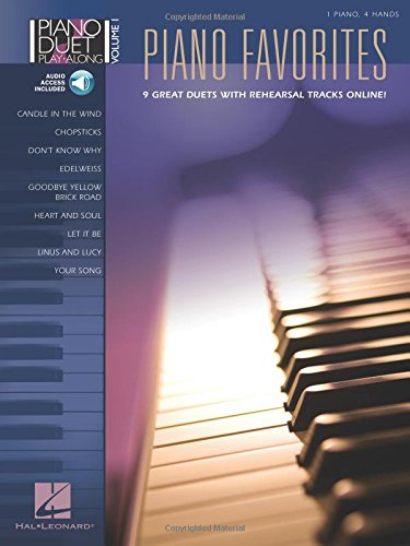 9781423421245: Piano favorites +CD (Piano Duet Play-Along)