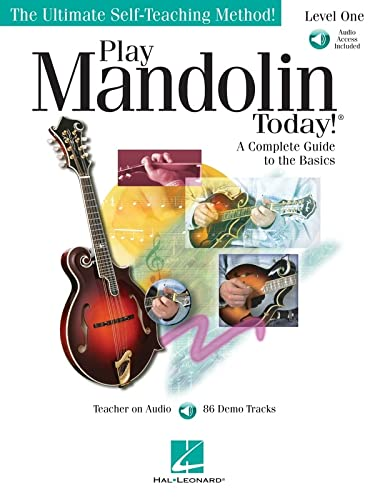 9781423421429: Play Mandolin Today! - Level 1: A Complete Guide to the Basics The Ultimate Self-Teaching Method!
