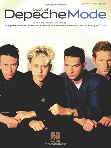 Depeche Mode Best of Format: Paperback 9781423421818 (Piano/Vocal/Guitar Artist Songbook). 13 fan favorites from these '80s mainstays: Barrel of a Gun * Dream On * Enjoy the Silence * I Fee