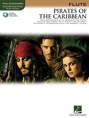 9781423421955: Pirates of the Caribbean: for Flute (Hal Leonard Instrumental Play-Along)