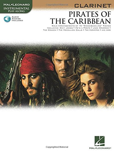 PIRATES OF THE CARIBBEAN FOR CLARINET INSTRUMENTAL PLAY-  ALONG BK/CD (Hal Leonard ...