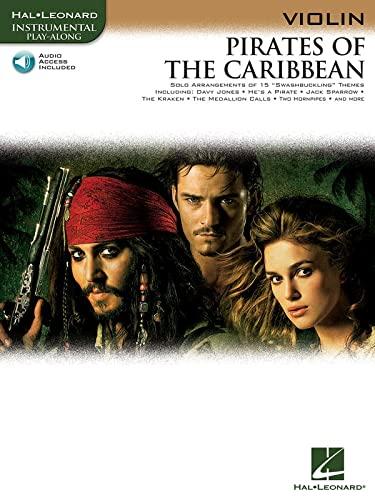 9781423422020: PIRATES OF THE CARIBBEAN FOR VIOLIN INSTRUMENTAL PLAY- ALONG BK/CD (Hal Leonard Instrumental Play-Along)
