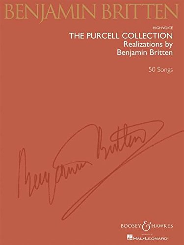 9781423422525: The Purcell Collection High Voice Realizations by Benjamin Britten