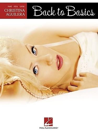 9781423422594: Christina Aguilera - Back to Basics (Pvg)
