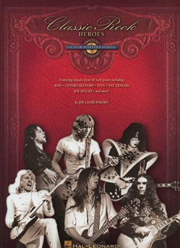 9781423423614: Classic Rock Heroes Guitar Master Series Guitar Gtr Tab Book/Cd (Guitar Masters: Original Recordings)