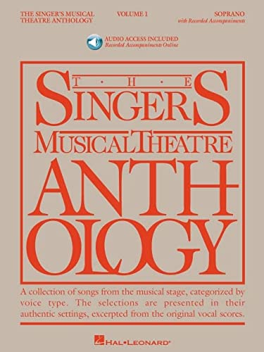 9781423423645: Singer's Musical Theatre Anthology - Volume 1: Soprano Book/Online Audio (Singer's Musical Theatre Anthology (Songbooks))