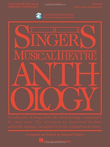 9781423423669: Singer's Musical Theatre Anthology Tenor Volume 1 Bk/Audio Online Smta