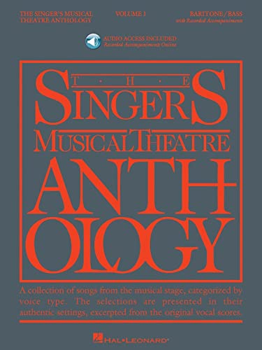 Singer's Musical Theatre Anthology - Volume 1: Baritone/Bass Book/Online Audio (...
