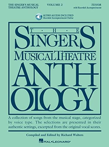 9781423423713: The Singer's Musical Theatre Anthology, vol. 2: Tenor BK/2CDS