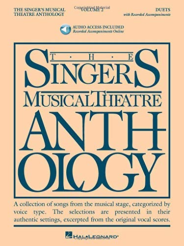 9781423423737: The Singer's Musical Theatre Anthology - Volume 2: Duets Book With Online Audio (Singers Musical Theater Anthology)