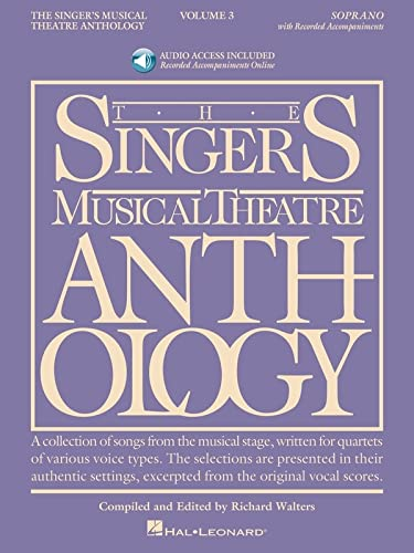 The Singer's Musical Theatre Anthology, Vol. 3: Soprano (Book and CD)