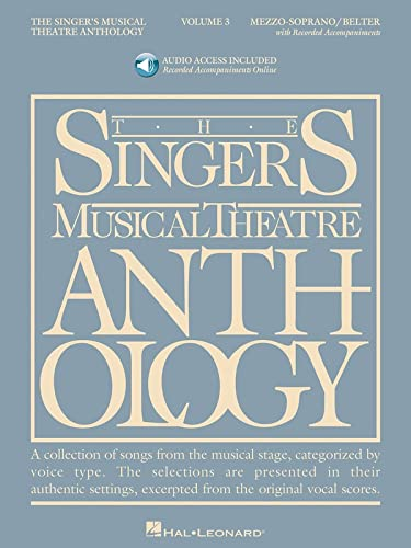 9781423423768: Singer's Musical Theatre Anthology - Volume 3: Mezzo-Soprano Book/Online Audio [With 2 CDs] (Singers Musical Theater Anthology)