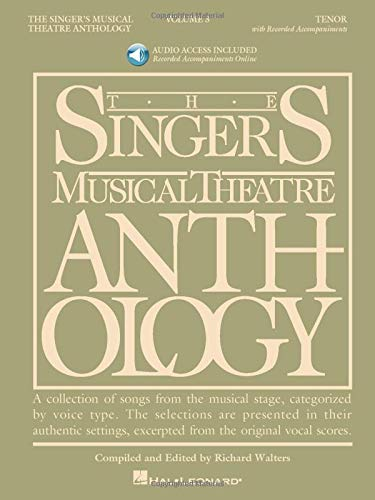 9781423423775: Singrs Mus Theatre Anth 3 Ten Bk2cd (Singers Musical Theater Anthology)