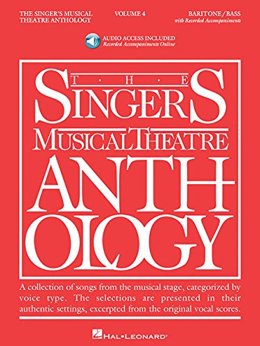 The Singer's Musical Theatre Anthology Vol. 4: Baritone/Bass BK/2CDS (Singers ...