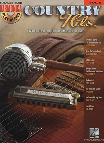 9781423423928: Harmonica Play-Along: Country Hits Volume 6