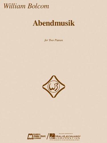 ABENDMUSIK - 2 PIANOS/4 HANDS INCLUDE 2 SET: HAL LEONARD CORPORATION