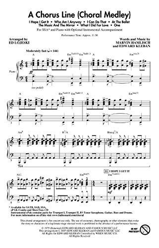 9781423424871: A Chorus Line