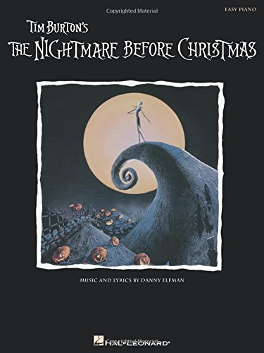 Nightmare Before Christmas Tim Burton's Easy Piano