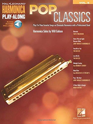 9781423426103: Pop Classics: Harmonica Play-Along Volume 8 Bk/Online Audio (Hal Leonard Harmonica Play-along)