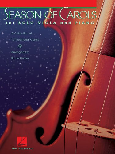 9781423426240: Season of Carols (Easy Solo Viola and Piano) Bk/online audio