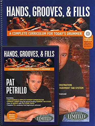 Hands, Grooves, & Fills: Book & DVD Pack: Petrillo, Pat