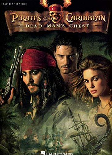 9781423426332: Pirates of the Caribbean - Dead Man's Chest: Easy Piano Solo