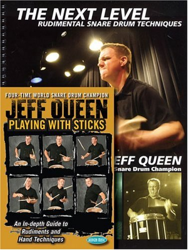9781423426424: Jeff Queen Playing with Sticks/The Next Level DVD/Book