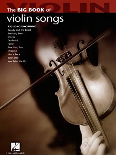 9781423426707: The Big Book of Violin Songs (Big Book (Hal Leonard))
