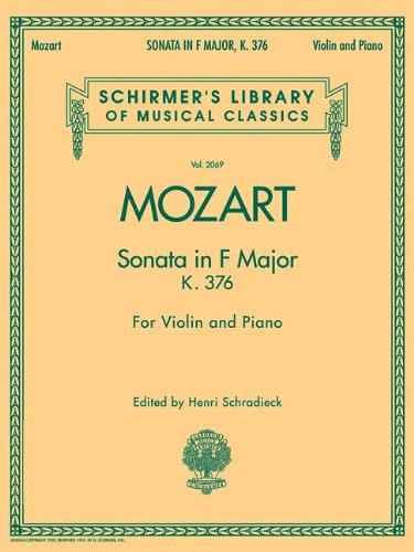 Violin Sonata F Major Abebooks