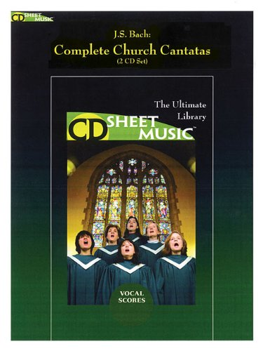 9781423428336: J.S. Bach: Complete Church Cantatas (2 CD) (9x12)